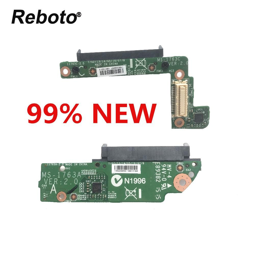 Reboto Original For MSI GT70 HDD HARD DRIVE CONNECTOR BOARD MS-1763C  MS-1763A 100% Tested Fast Ship
