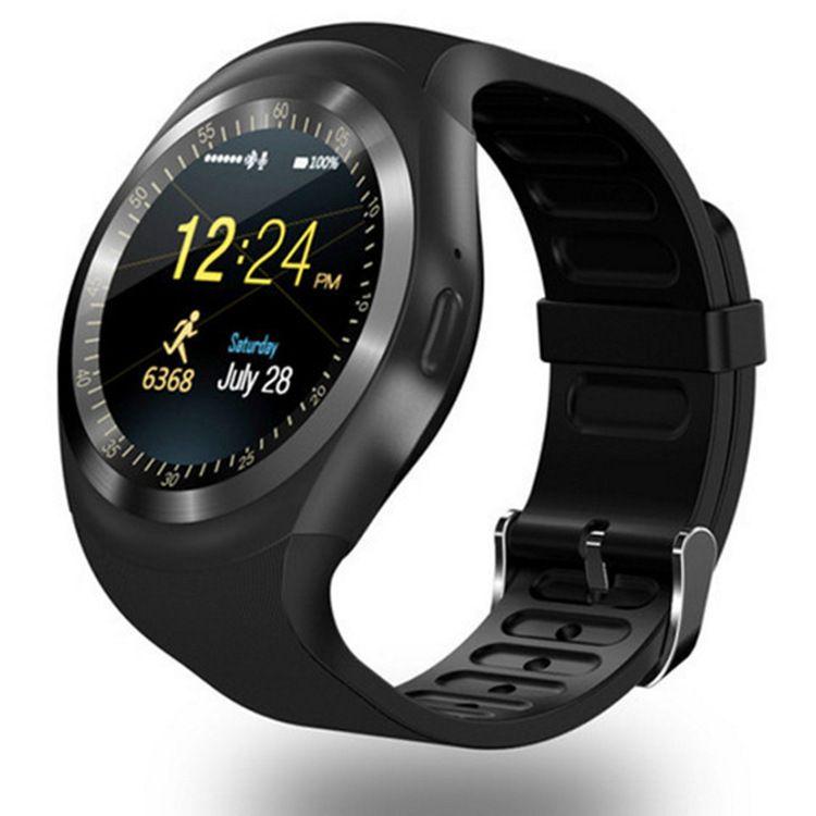 Y1 Bluetooth Smart Watch Поддержка Nano SIM TF Карта Мужчины Женщины Бизнес Smartwatch С WhatsApp и Facebook Для IOS Android
