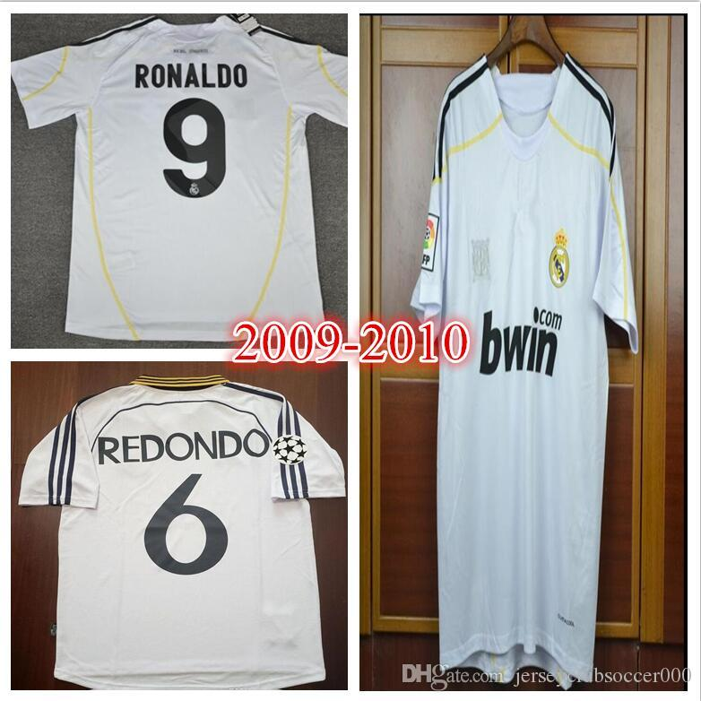 2822f274cd4 2019 98 99 00 Real Madrid Retro Soccer Jersey RAUL Football Shirts 1998  1999 2000 Redondo Carlos Seedorf Classic Camiseta De Futbol.