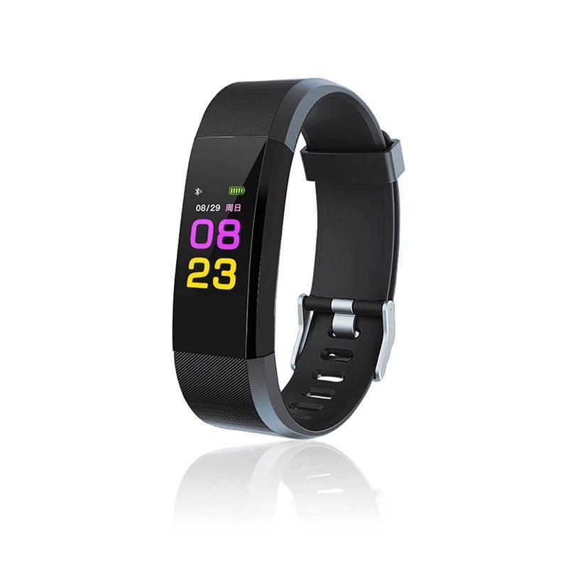 5750628d8c35 Pulsera Inteligente Decathlon ID115 Plus Smartband Color Touchscreen Pulsera  Inteligente Pulsera De Ritmo Cardíaco Monitor De Presión Arterial Fitness  ...