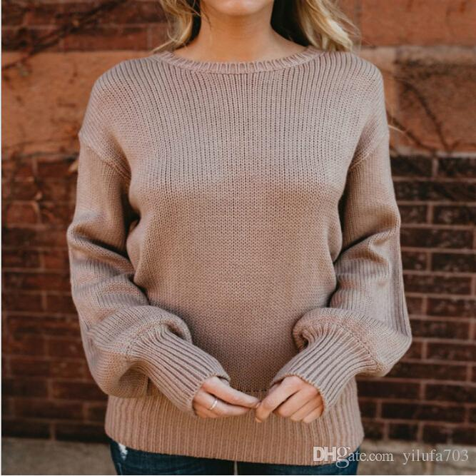 392e54c191fa5 2019 Explosion Models Sweater Women Europe And the United States New ...