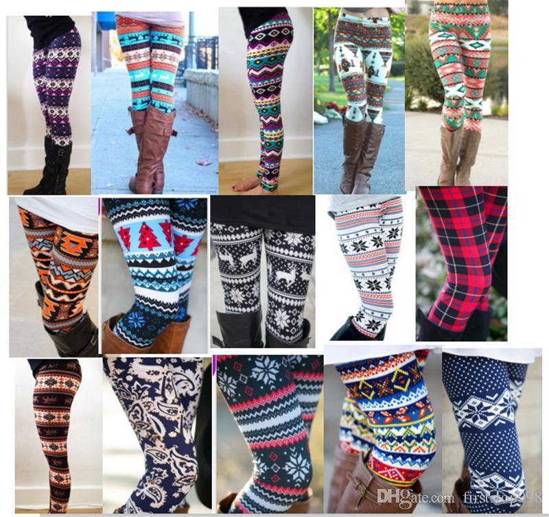 d7186c33ebe9ca 2019 Girls & Mom Leggings 3D Print Tights Bodycon Pants Trousers Christmas  Halloween Snowflake Floral Women Kids Tight Legging Legins 29 Designs From  ...