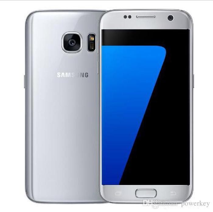 Refurbado Samsung Galaxy S7 Edge G935F G935V Teléfonos celulares Smartphone 5.5 pulgadas 4GB RAM 32GB ROM Solo SIM NFC 12MP 1080P 4G LTE TELÉFONO MÓVIL