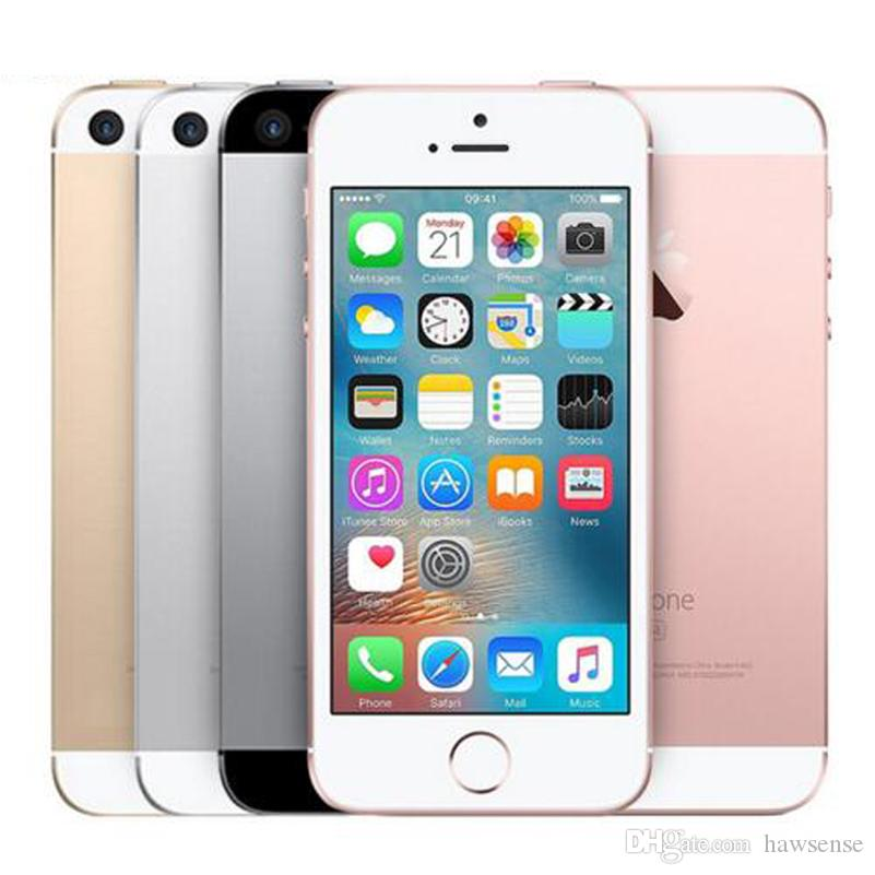 Apple Iphone Se 16gb 4g Lte Plateado Desbloqueado
