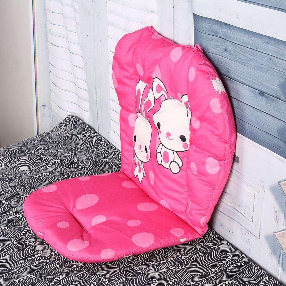 Cochecito de bebé de dibujos animados Asiento Cojín Carrito Cochecito de algodón completo Espesamiento del carro Paraguas Carro Trolley Funda de almohada Almohadilla de coche de bebé