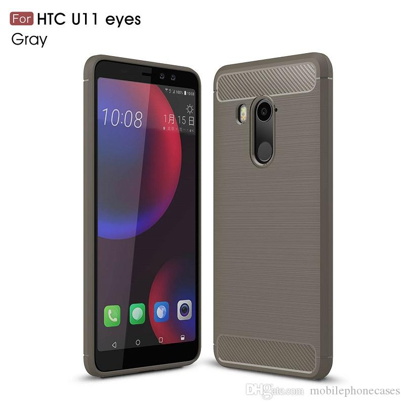 2018 New CellPhone Cases For HTC U11 Plus Carbon Fiber heavy duty case for HTC U11 eyes U11 life cover