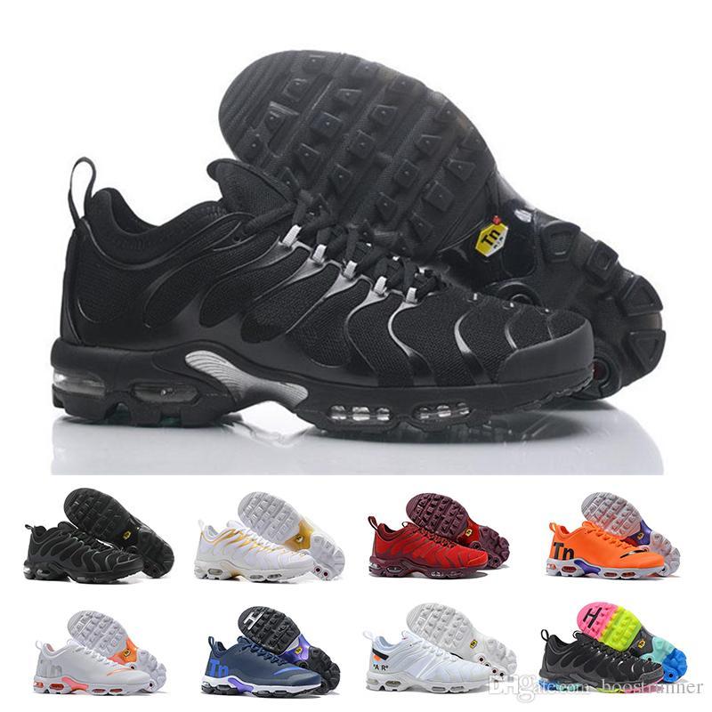 Acquista 2018 Hot Men TN Scarpe Tns Plus Air Fashion Ventilazione Aumentata  Casual Scarpe Da Ginnastica Olive Rosso Blu Nero Sneakers A  69.04 Dal ... 5d6a893d162