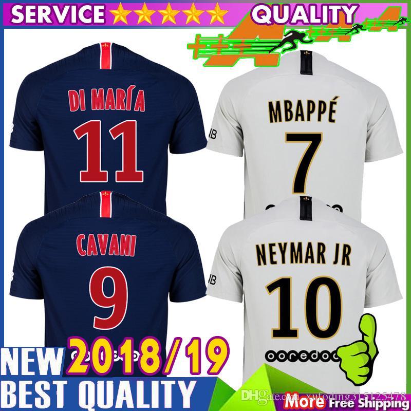 2018 19 Camiseta De Fútbol MBAPPE 18 19 Camisetas De Fútbol PSG ... 64623385e1ddb