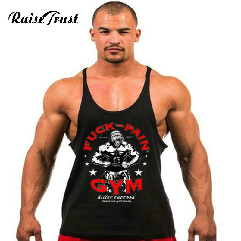 907cf7ef19cbc Spring 2018cotton Golds Tank Top Men Sleeveless Tops For Boys Bodybuilding  Clothing Undershirt Vest Powerhouse Gyms From Gavinuni