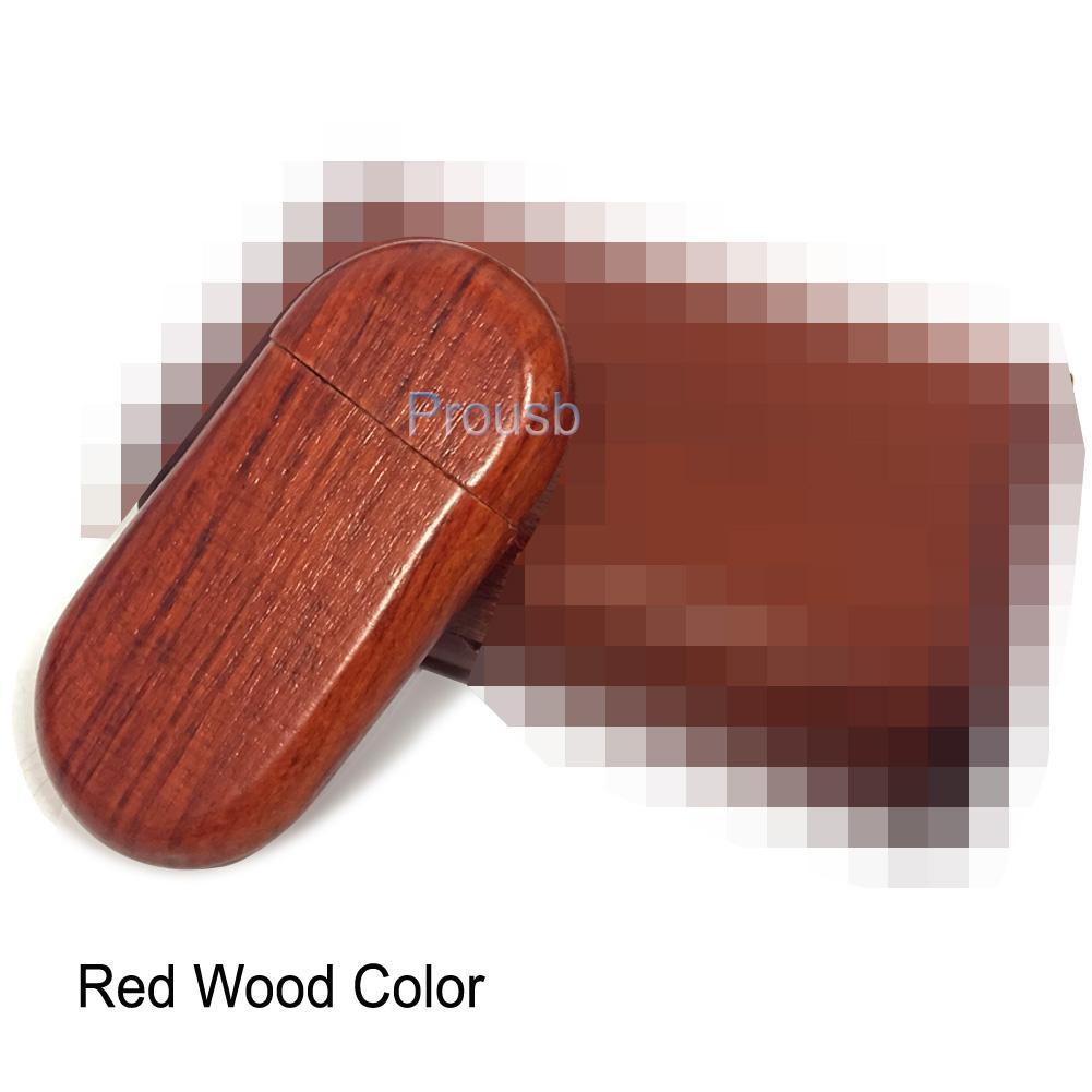 1GB 2GB 4GB 8GB 16GB Wood Oval Memory Pendrive Sticks True Capacity USB Flash Drive 2.0 Suit for Laser Engraved Logo