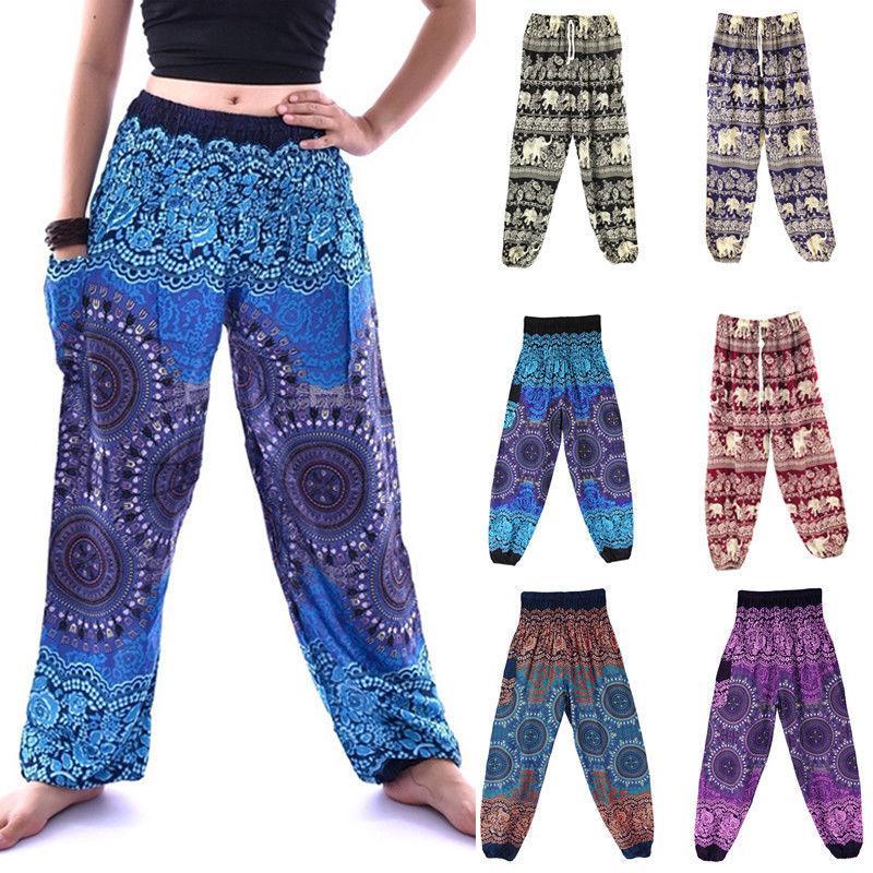 0e9a0e1400d003 2019 Thai Pants /Baggy Harem Trousers Elephant Unisex Women Man Drawstring  Hippy Leg Wide Pants One Size From Shoppingparty, $35.7 | DHgate.Com