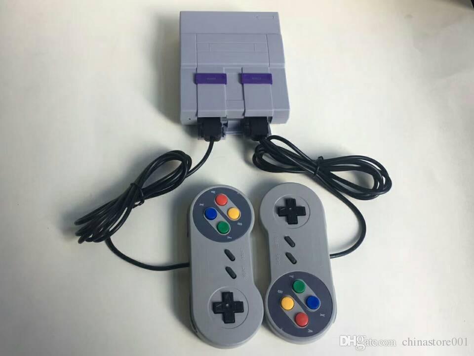 16bit Klasik SFC TV El Mini Oyun Konsolu Kaliteli 16 bit Oyun Sistemi Için 16bit 94 SFC NES SNES Oyunları Konsolları