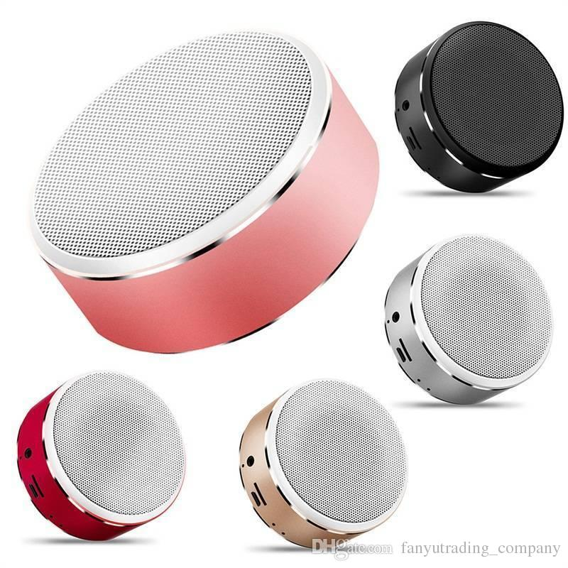 HIFI Colorful Metal Mini Bluetooth speaker portable wireless music HIFI bluetooth audio receiver call FM T For Smartphone Car Audio DHL Ship