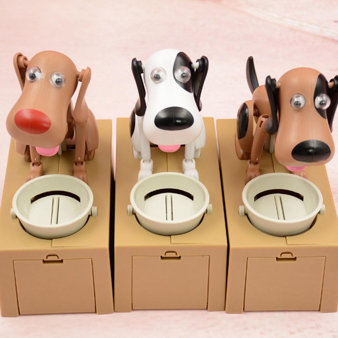 Acquista stola automatica moneta salvadanaio cartone animato cane