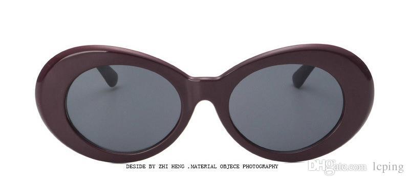 Vidano Optik Yuvarlak Güneş Gözlüğü Klasik Pilot Güneş Erkek Womes Güneş Gözlükleri Gözlük Kutusu Ile Altın Çerçeve Kahverengi Cam Lensler