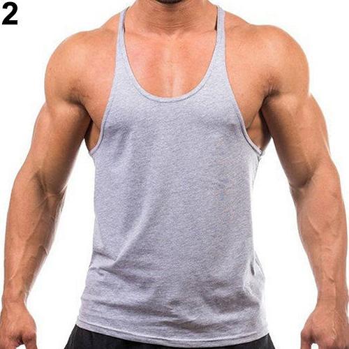 Nova Moda Masculina Moda Singletos Sem Mangas Colete Musculação Workout Regata de Fitness Top Nova Chegada