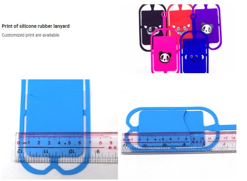 Wholesale Nice Cheap Mixed colors Universal Anti-Lost Hand Grip Strap business wallet card holder lanyard for iphone 6S Plus all smartphone