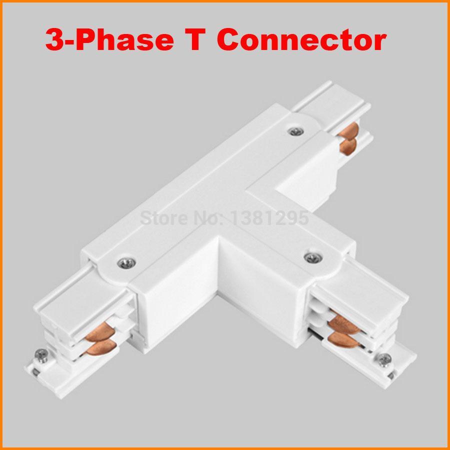 Großhandel 3 Phasen Schaltung 4 Draht Quadrat Led Schienenleuchte T ...