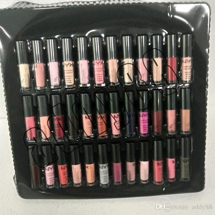 NYX SOFT MATTE LIP CREAM nyx Set Lipstick Lip Gloss Matte No Fading Sofe Velvet Lip Makeup set