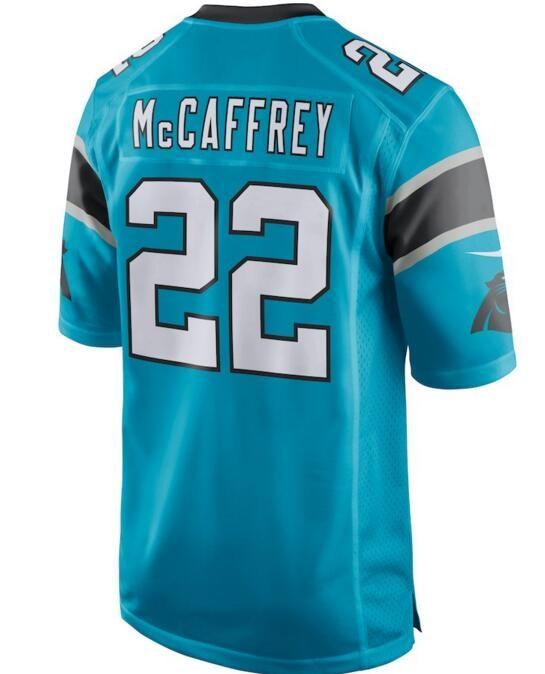 5076ac3f2 Carolina Christian McCaffrey Panthers Jersey Cam Newton Julius ...
