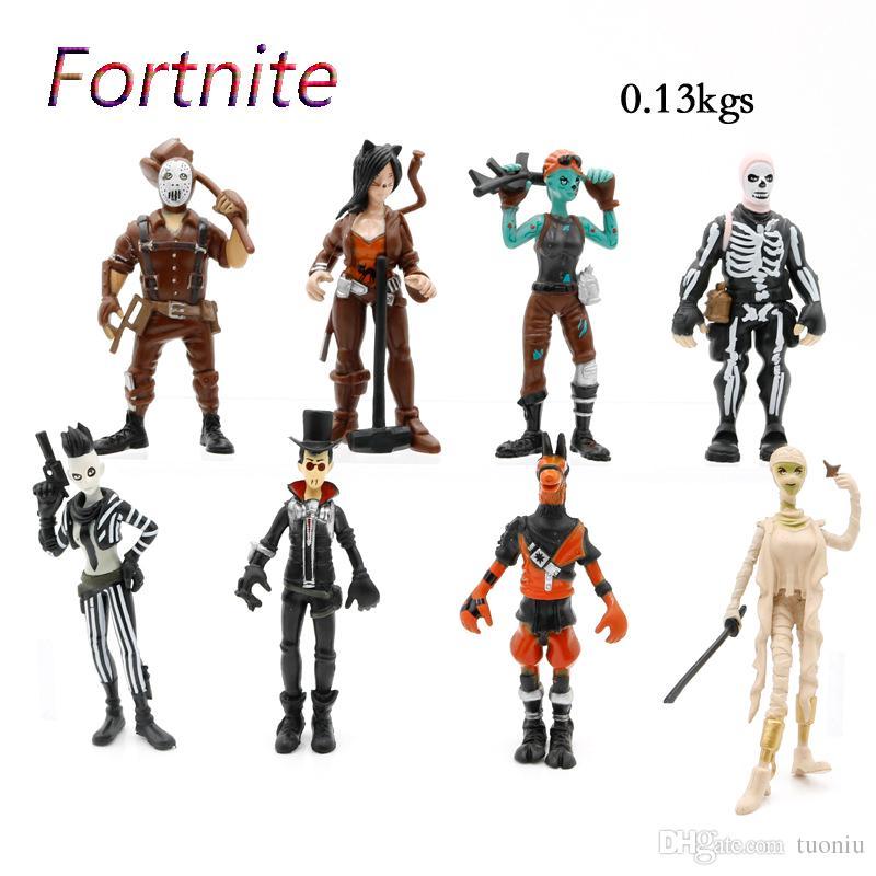Acquista 8 Style Fortnite Plastic Doll Giocattoli 2018