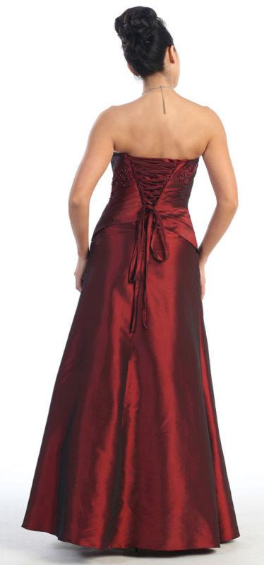 2018 PLUS SIZE EVENING GOWN MOTHER of the BRIDE DRESS CORSET