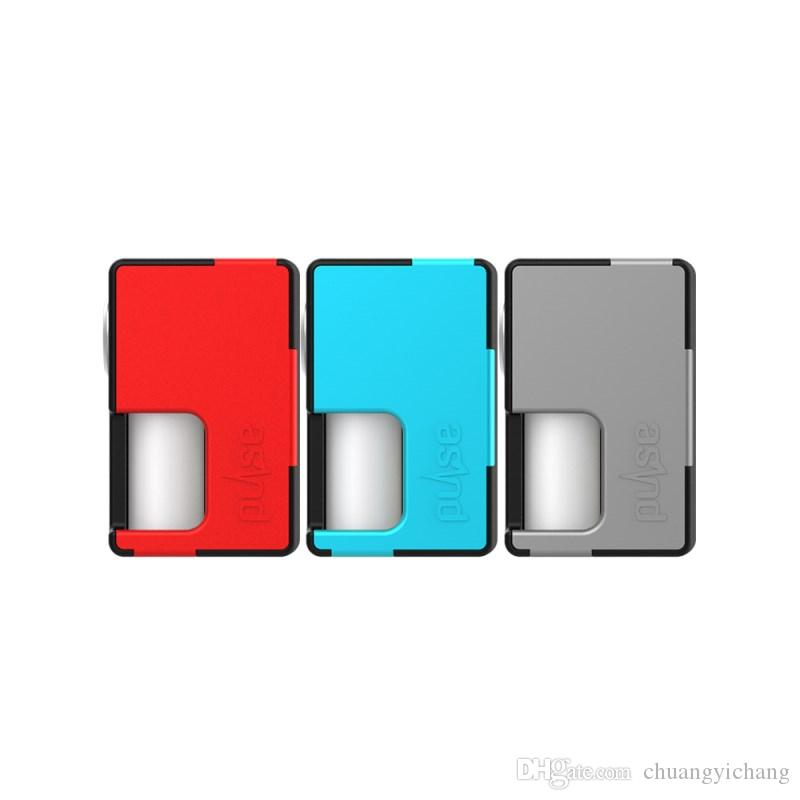 Original Vandy Vape Pulso BF Box Mod Cigarro Eletrônico Squonk Mod 8 ml Garrafa De Silicone apto para Pulse BF RDA Atomizador Tanque