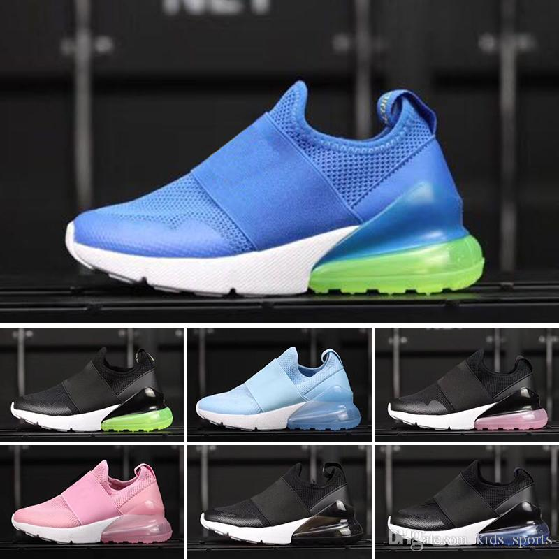 afd01e1ea5626a 2018 New Child Infant 270 OG Kids Running Shoes Cactus 27c Aircushion  Outdoor Toddler Athletic 270S Boy Girl Children Sneaker Size 28 35 Running  Gear For ...