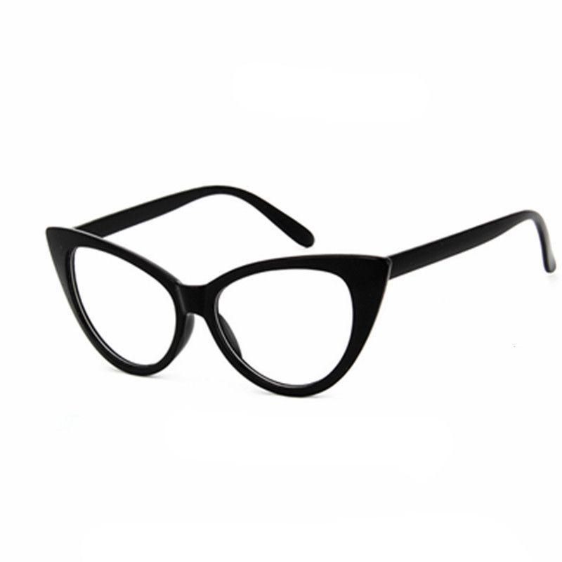 b14557ab68 Brand Fashion Women Eye Glasses Frame Cat s Eye Optical Glasses ...