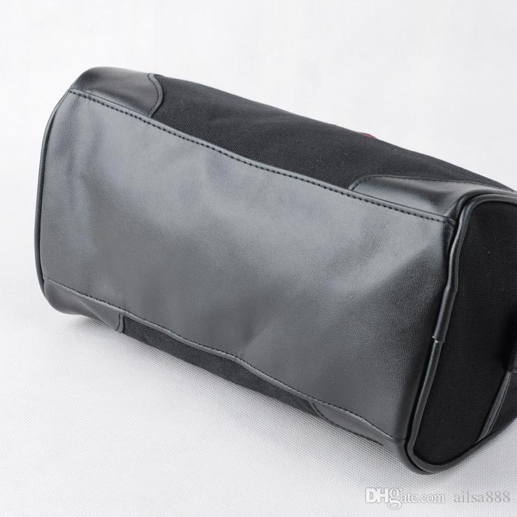 Hot sale of new canvas flower makeup bag PU stitching men's toiletries bag.