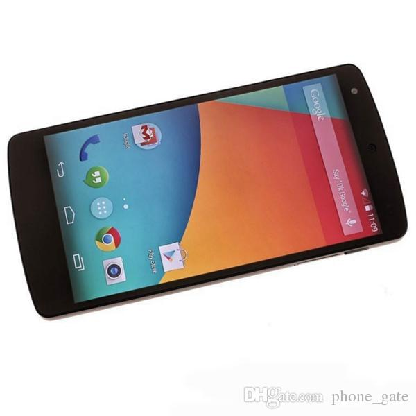 "Unlocked Refurbished Google LG Nexus 5 D820 D821 Quad Core 2GB 32GB 4.95"" Original Unlocked 3G/4G WCDMA WIFI GPS Bluetooth MobilePhone"