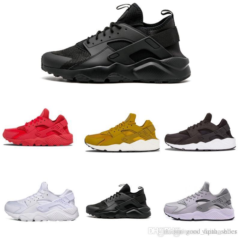 e698941eabf Compre Nike Air Max Supreme Off White Vapormax Nike Huraches Triplo Branco  Preto Vermelho Huraches 4.0 IV Ouro Cinza Formadores Homens Mulheres Ao Ar  Livre ...