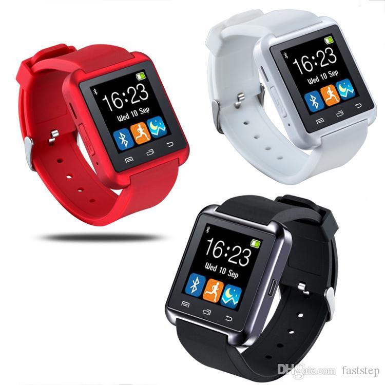 0d612bca264e Precio De Celulares U8 Bluetooth Smart Watch Watch Reloj De Muñeca Smartwatch  Para IPhone 4 4S 5 5S 6 6S 6 Más Samsung S4 S5 Note 2 Note 3 HTC Android  Phone ...
