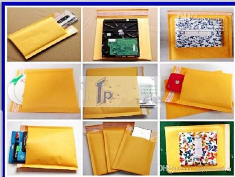 4.3*5.1 inch 110*130mm Kraft Bubble Envelope Wrap Bags Pouches Packaging PE Bubble Bags