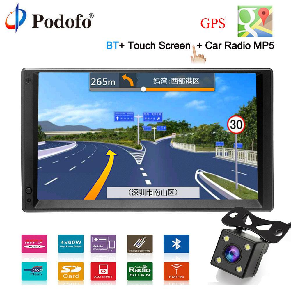 podofo gps navigation android 2 din 7hd car radio touch screenbest double din dvd gps cheap gps for tucson