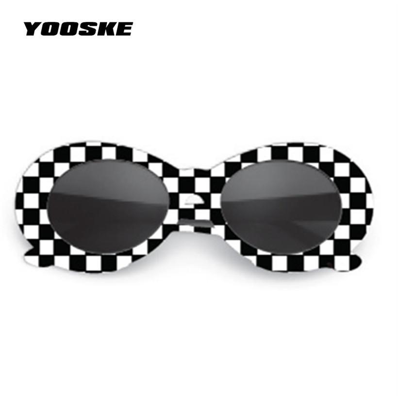 0f3f9072828 YOOSKE Clout Goggles Sunglasses NIRVANA Kurt Cobain Sunglasses Men Vintage  Retro Female Male Sun Glasses Women s Glasses UV400 Cheap Prescription  Sunglasses ...