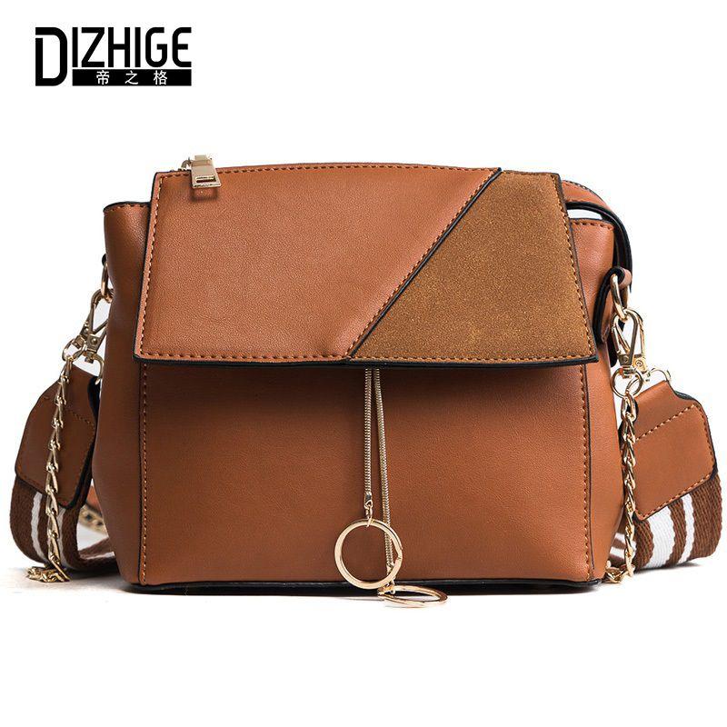 fce8eee868 DIZHIGE Brand Luxury Crossbody Bags For Ladies Pu Leather Women ...