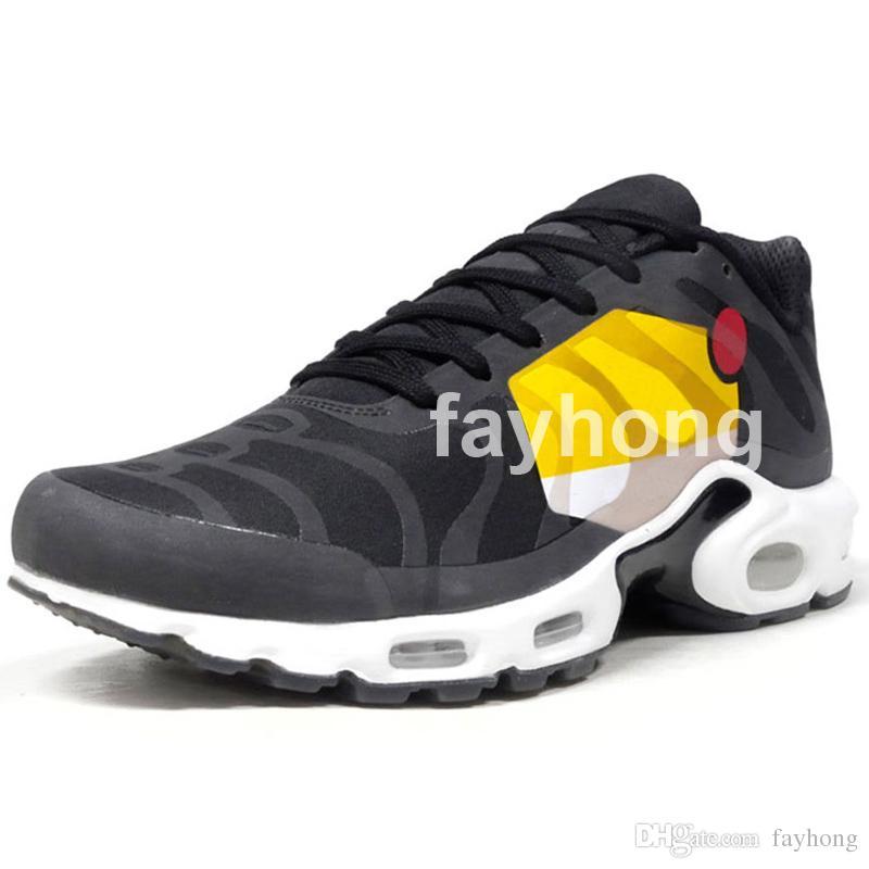 Горячая 2018 TN Plus NS GPS SP большой логотип пакет мужские кроссовки удобный образ жизни обувь для мужчин спортивные кроссовки обувь 2018 новый дизайнер обувь