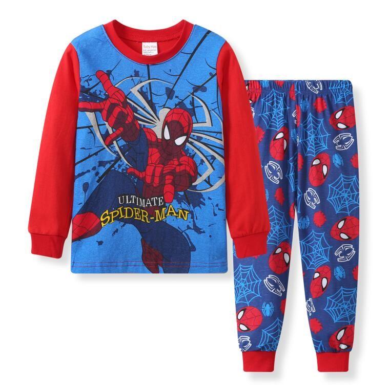 8f6c9c222b954 Kids Pajama Sets baby Boys Sleepwear Suit Children pyjamas Clothing Set  T-shirt Pants 2pcs set Nightwear Homewear for 2-7 Years
