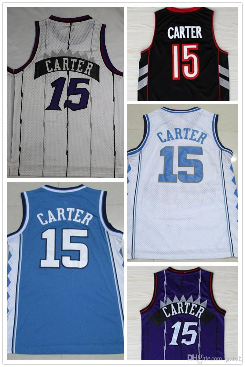 0b31c2fa013 ... italy ncaa wholesale 15 vince carter jersey university of north  carolina carter shirt 100 stitched logo