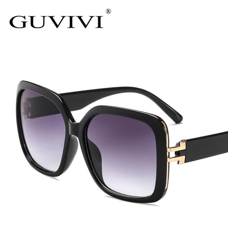6dee3c0b8ab14 Compre Marca De Moda Preto Quadrado Óculos De Sol Das Mulheres Dos Homens  Oversize Espelho Goggle Óculos De Sol Quadrado Masculino Feminino Oculos  Gafas ...