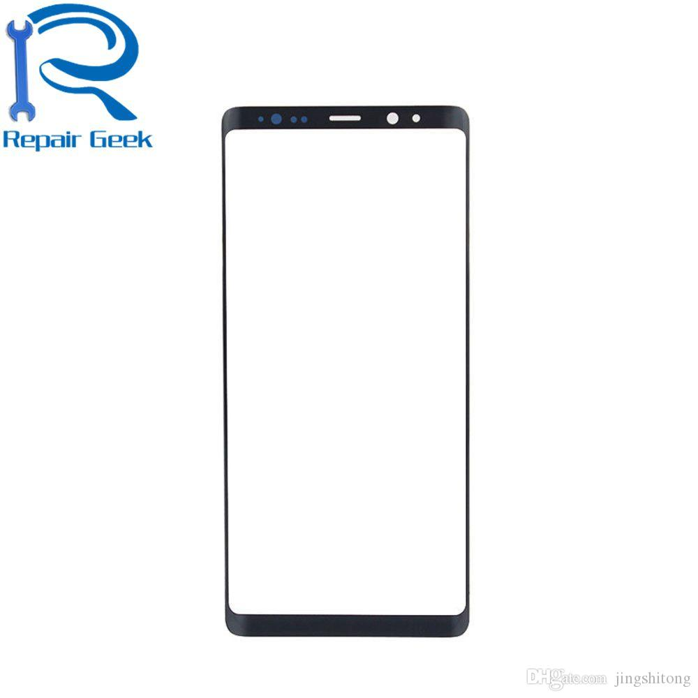 New Close Original Housing Front Outer Glass Lens Touch Screen Panel For Samsung Galaxy Note 8 N950A N950F Repair Replacement Parts
