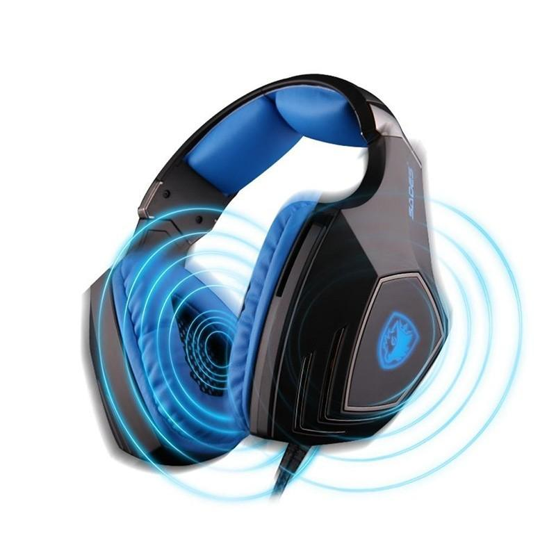7.1 Surround Sound Headphones USB PC Gaming Earphone Stereo Headsets