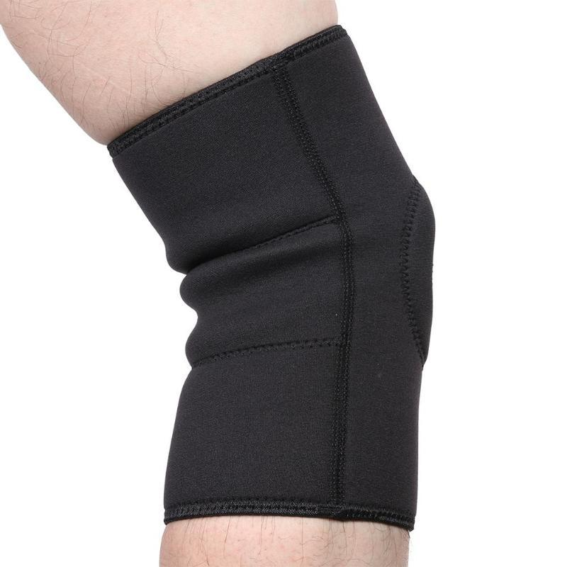82f5a7e88c 2019 Elastic Knee Support Protective Pad Breathable Bandage Knee Brace  Sleeve For Basketball Running Sports Safety From Pearguo, $38.2 | DHgate.Com