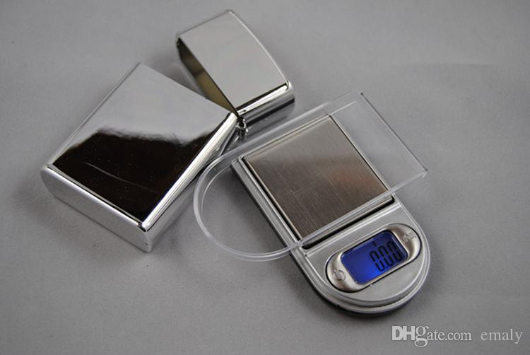 100g x 0.01g Mini Pocket Digital Scale Lighter Style Protection Case Portable Jewelry Scales LCD Display