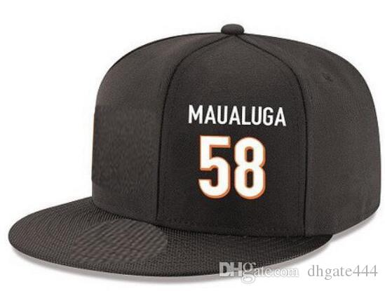 454a3f9c179 Snapback Hats Custom Any Player Name Number  58 Maualug Cincinnati Hat  Customized ALL Team Caps Accept Custom Made Flat Embroidery Logo Name Cheap  Hats ...
