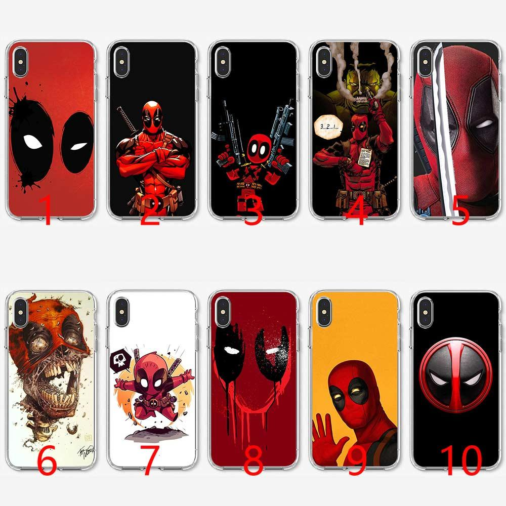 deadpool iphone xs max case