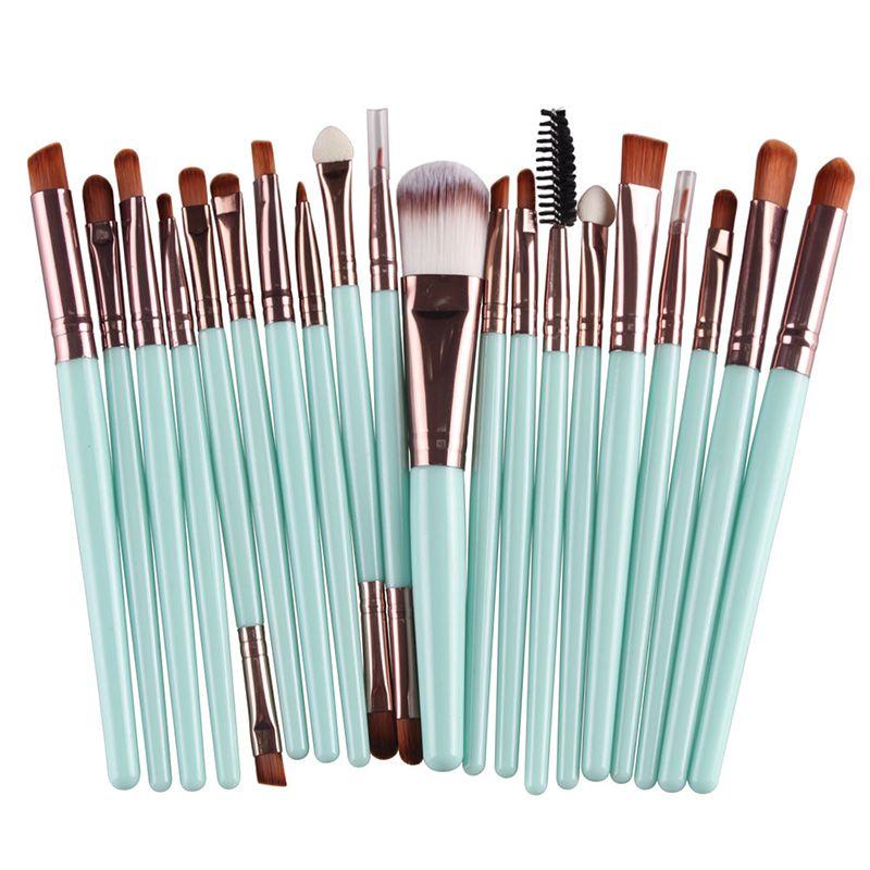 cosmetico spazzole di trucco del fondamento della polvere dell'ombretto Eyeliner Lip Brush strumento di marca compone le spazzole di bellezza Tools DHL 40
