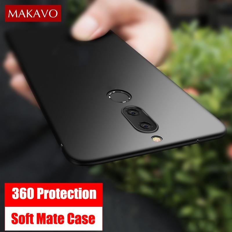 wholesale dealer 85b15 907c4 Cover For Huawei Mate 10 Lite Case 360 Protection Soft Matte Silicone  Housing For Huawei P20 Lite Pro Nova 2i Phone Cases