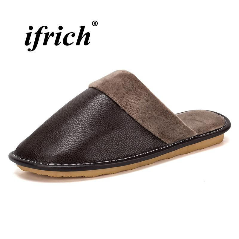 b11bb50fdaba Comfortable indoor slippers guests brown black male room shoes jpg 800x800  Indoor brown sole shoes